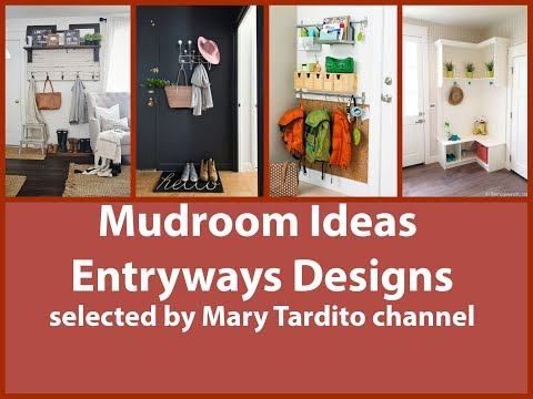 Mudroom Ideas - Best Entryways Designs - Home Organization and Storage