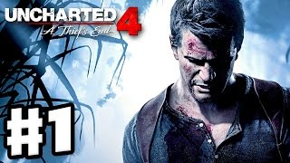 Uncharted 4: A Thief's End - Gameplay Walkthrough Part 1 - Chapter 1: The Lure of Adventure (PS4)