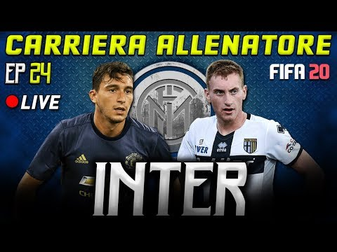 🔴 [LIVE] INTER DA SCUDETTO! | FIFA 20 Carriera Allenatore INTER [#24] ★ ULTIMATE