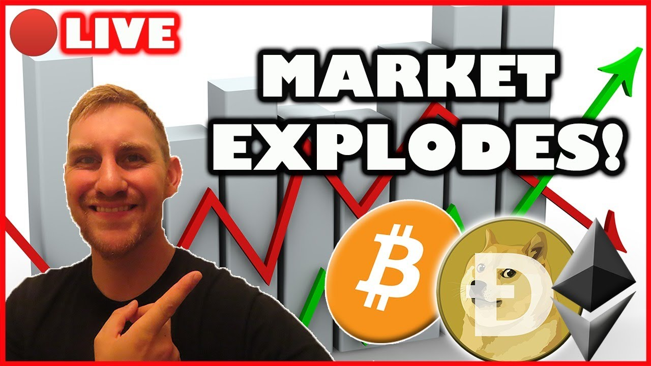 BITCOIN AND ALTCOINS EXPLODE TODAY! (Bitcoin Live)