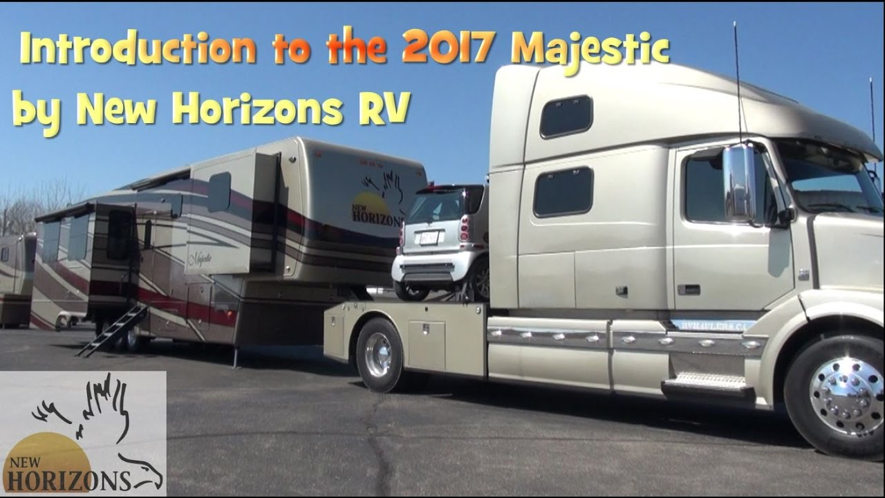 New Horizons Rv >> Tour A Custom 5th Wheel Majestic 2017 Model By New Horizons Rv
