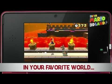 Super Mario 3D Land - Game Trailer - Pre-order Trailer