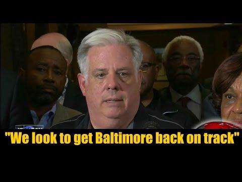 Maryland Governor Larry Hogan Responds to Baltimore Riots