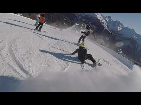 Ski crash sampler