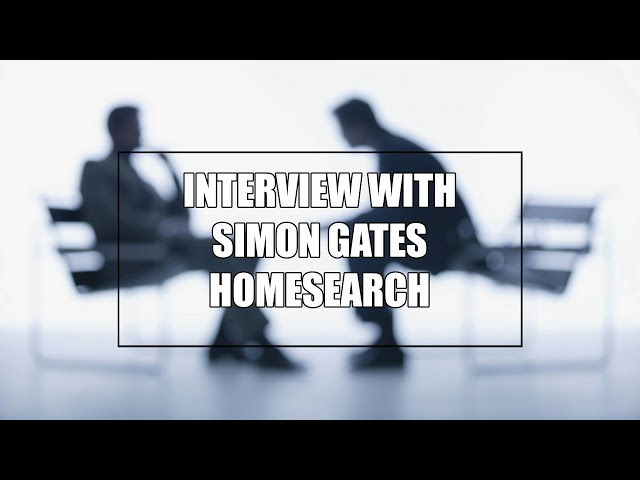 Interview with Simon Gates from Homesearch