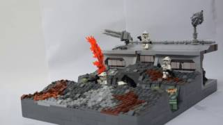LEGO STAR WARS Clone Base on Bespin (Contest Entry)