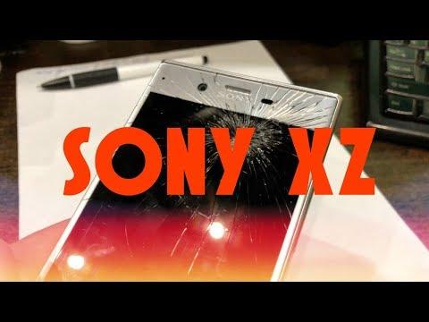 Замена дисплея на Sony Xperia XZ