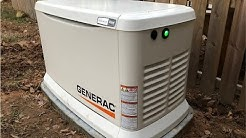 Whole House Standby Generator Protecting the Homestead - Generac 7043-2