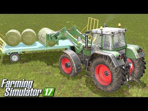 Kłopoty z belami - Farming Simulator 17 | #45