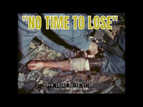"ROYAL CANADIAN AIR FORCE PLANE CRASH SURVIVAL FILM ""NO TIME TO LOSE"" 28242"
