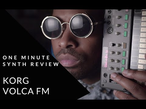 ONE MINUTE SYNTH REVIEW!!! Ep. 12 KORG Volca FM