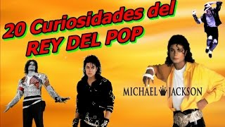 20 Curiosidades del Rey del Pop (Michael Jackson)