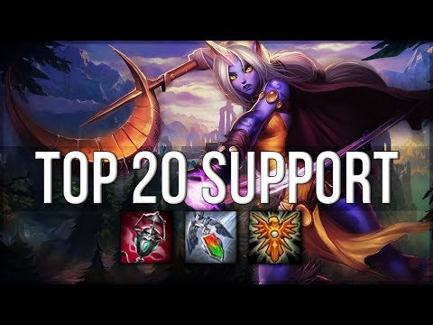 Top 20 SUPPORT Plays #05 | League of Legends