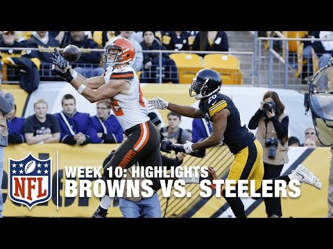 Browns vs. Steelers | Week 10 Highlights | NFL