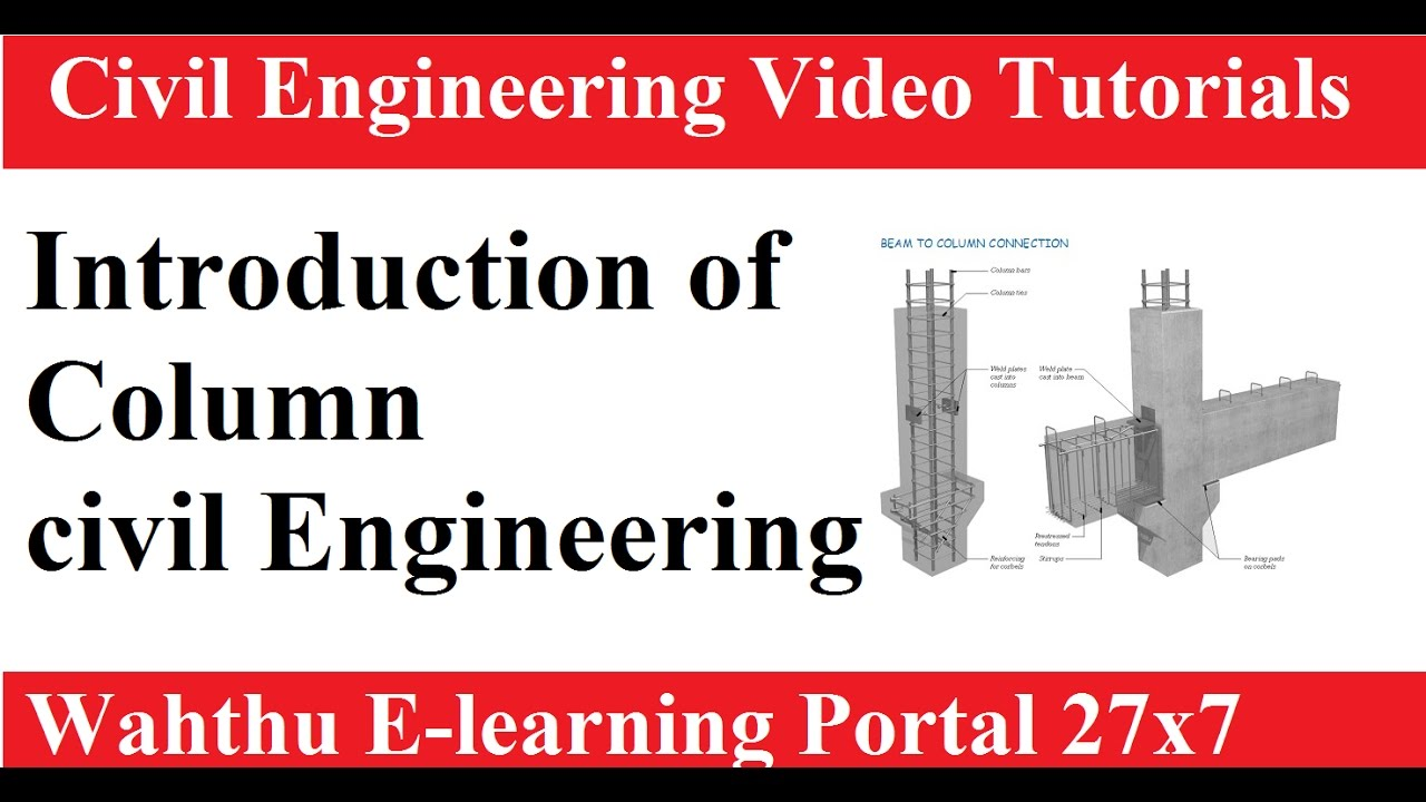 Introduction of column ||RCC Design And Drawing Hindi video ...