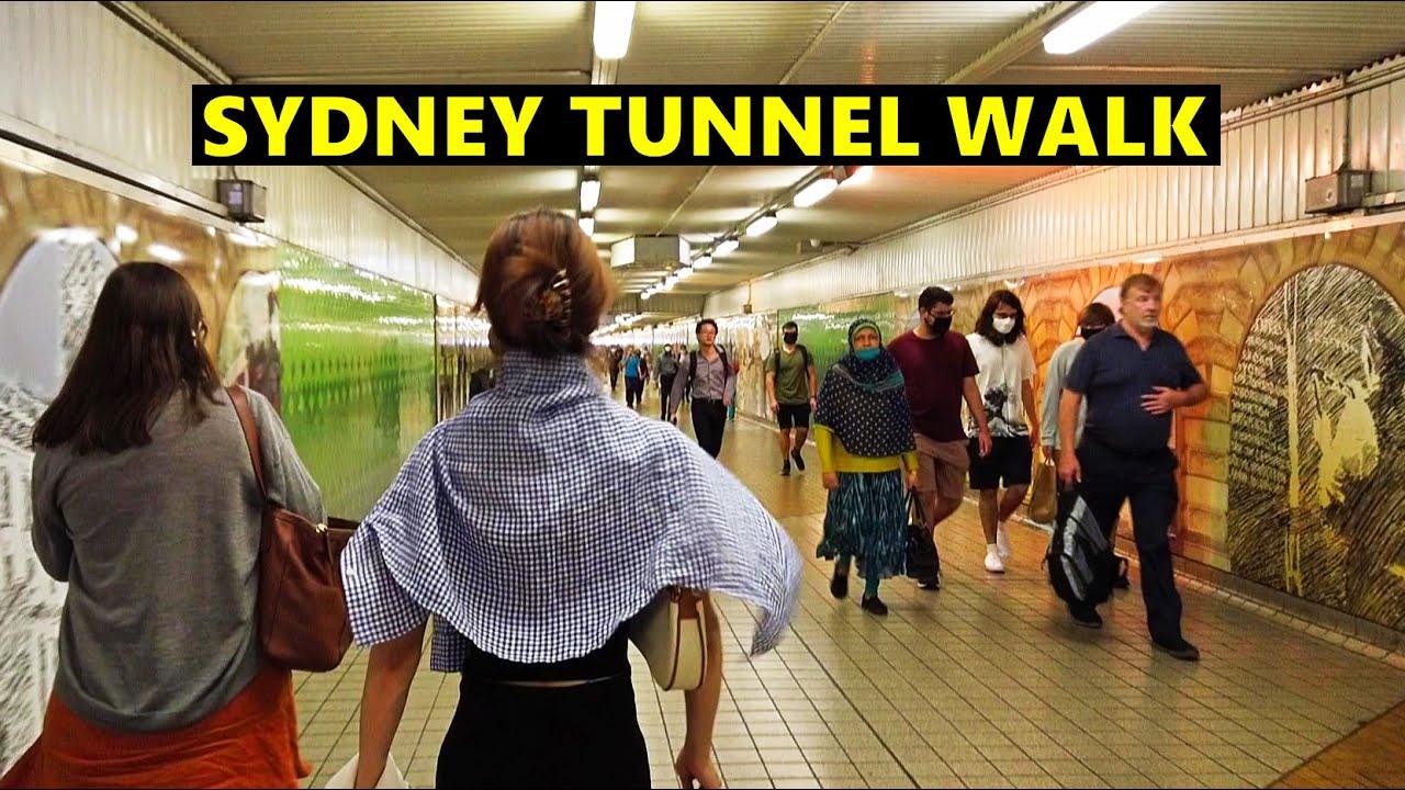 Sydney Tunnel Walk - Central Railway Station To Ultimo Via Devonshire Street Tunnel