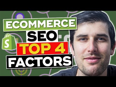 Ecommerce SEO - Get Traffic to Your Online Shopify Store 2019 [Top 3 Factors] thumbnail