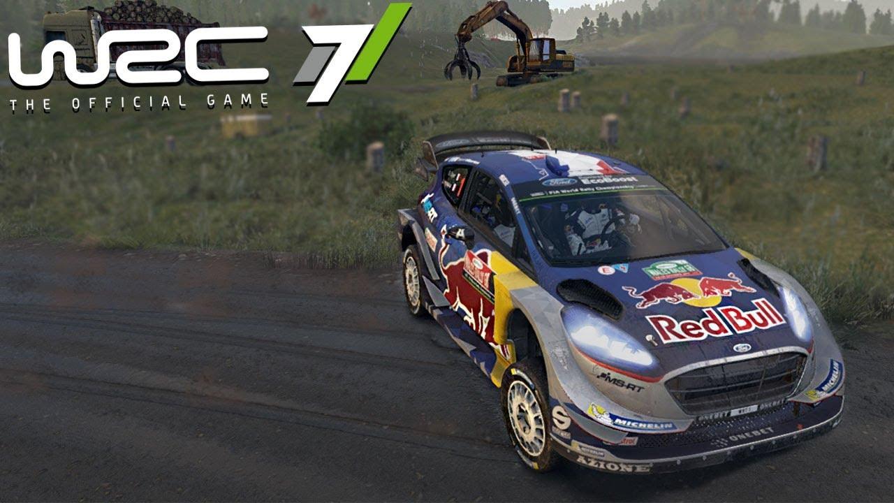 BEST RALLY CROSS DRIVER - WRC 7 - YouTube