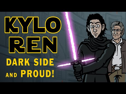 Kylo Ren - Dark Side and Proud! - TOON SANDWICH