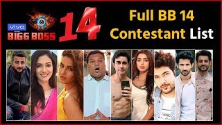 Bigg Boss 14 : These 12 Popular Celebrities Names LEAKED Who Will Enter In 'Bigg Boss Season 14'
