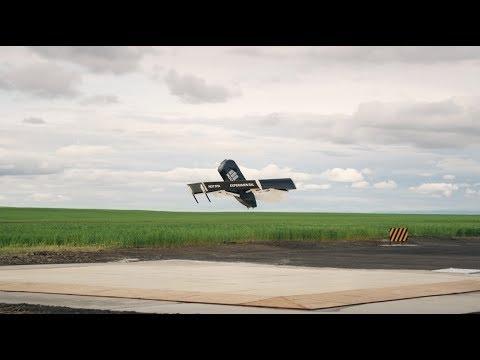 Amazon Prime Air's New Delivery Drone