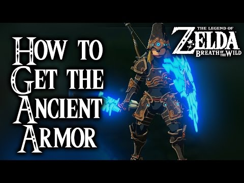 Breath of the Wild - How to get the Ancient Armor (Legend of Zelda)