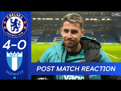 Jorginho Post Match Reaction | Chelsea 4-0 Malmö Fotbollförening | UEFA Champions League
