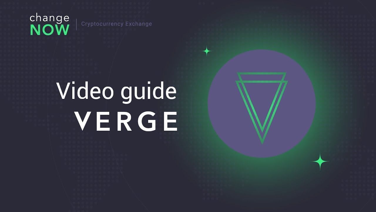 best place to buy verge cryptocurrency