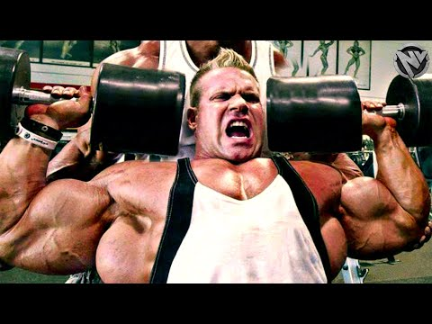 HEAVY WEIGHTS - FOR REPS - BUILD SOME MUSCLE - HARDCORE GYM MOTIVATION