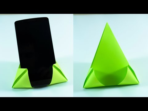 Easy Way to make a Paper Phone Stand