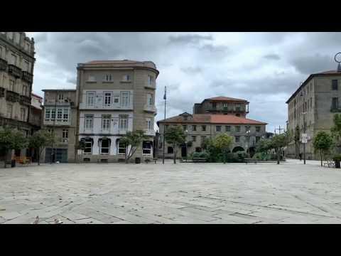 Así suena una tarde de tormenta en la Pontevedra confinada