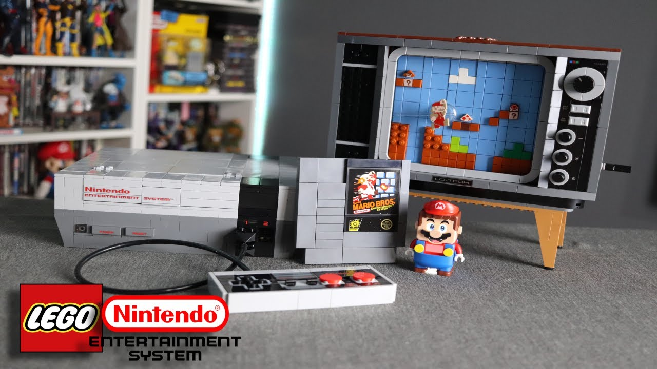 Lego Nintendo Entertainment System Review Youtube