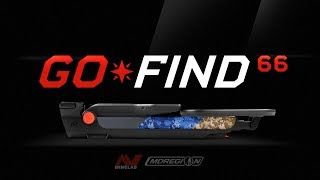 видео Металлоискатель Minelab GO-FIND 66