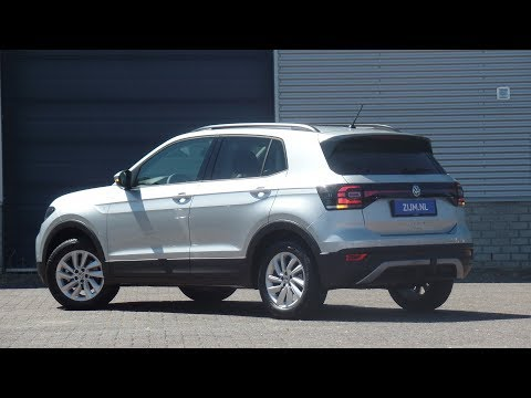 Volkswagen NEW T-cross Life in 4K 2019 Reflex Silver 16 inch Belmont Walk around & Detail inside
