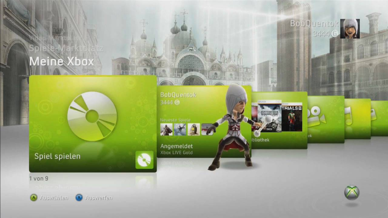 Xbox360 Spiele Auf Festplatte Installieren Quentoks Tut Youtube