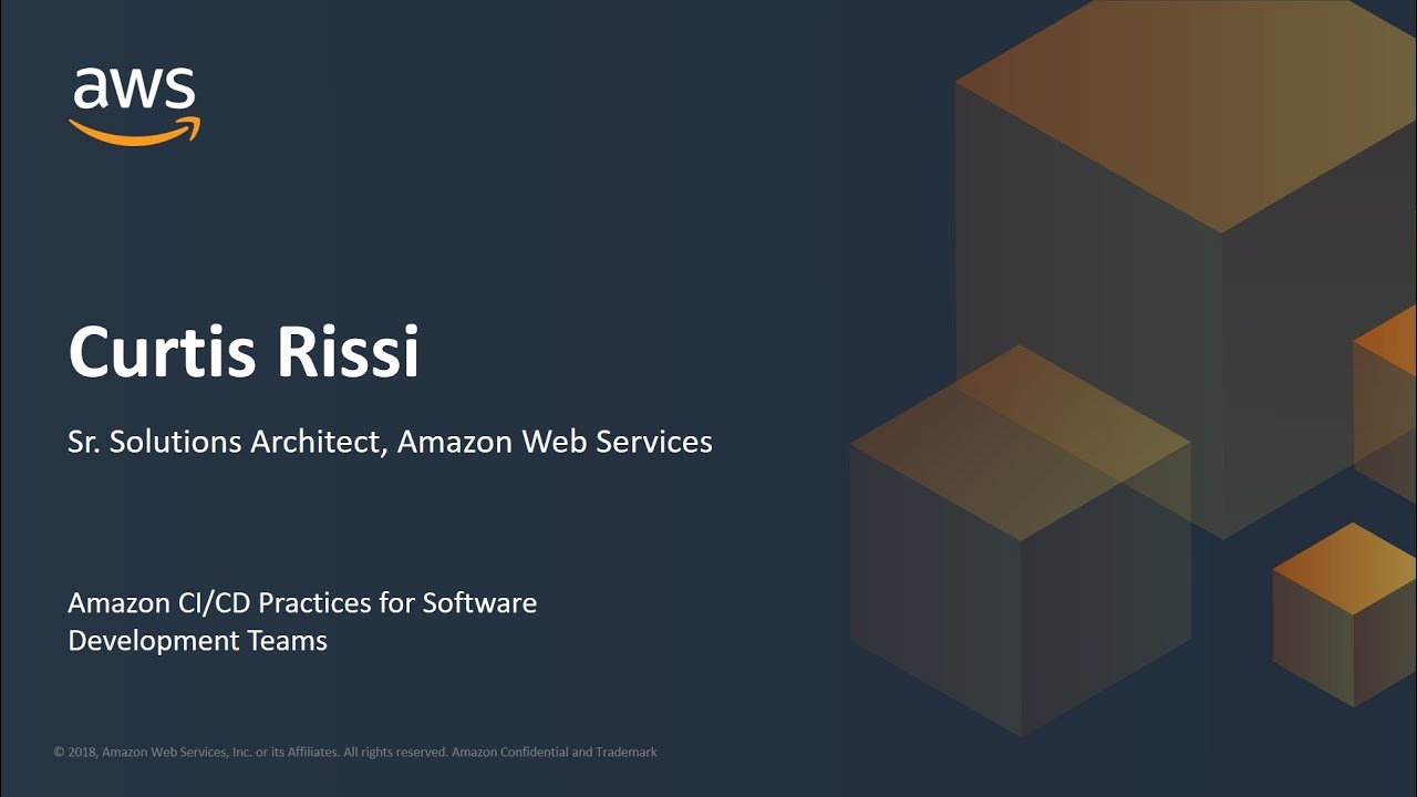 Amazon CI/CD Practices for Software Development Teams - AWS Online Tech  Talks
