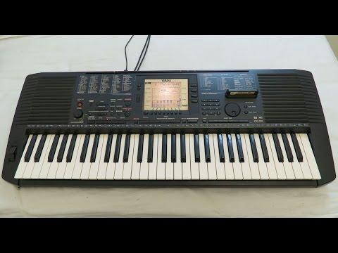 Yamaha PSR-530 Demo Songs