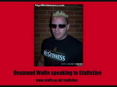 TNA Wrestler Desmond Wolfe Interview