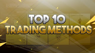 TOP 10 TRADING METHODS ON FIFA 16!!