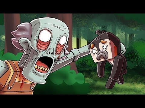 Minecraft Grampy - EVIL GRANDPA IS PSYCHO! (Granny Horror Game)