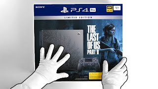 """PS4 Pro """"THE LAST OF US PART II"""" Console Unboxing - Last Limited Edition PlayStation 4?"""