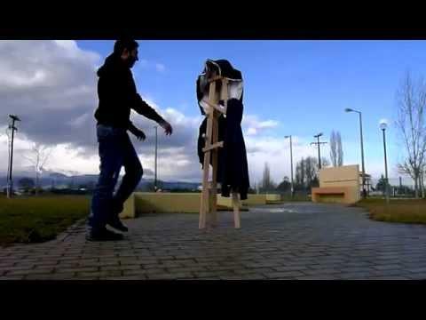 Design Project 2 (Making of) a 3 legged coat-rack by Alabritis - Mihailidis - Christofi, Jan 2013