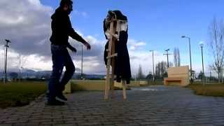 Design Project 2 (making Of) A 3 Legged Coat-rack By Alabritis - Mihailidis - Christofi, Jan 2013