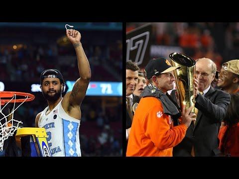 ACC Boasts National Champions of Football & Basketball