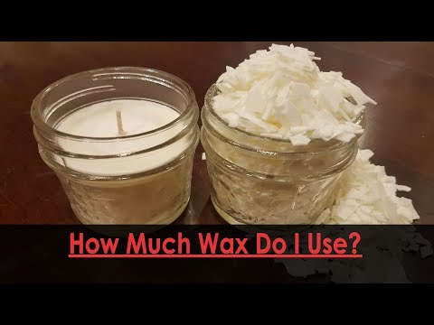 How much wax do I use making candles? {Golden Brands 464 Soy Wax}}