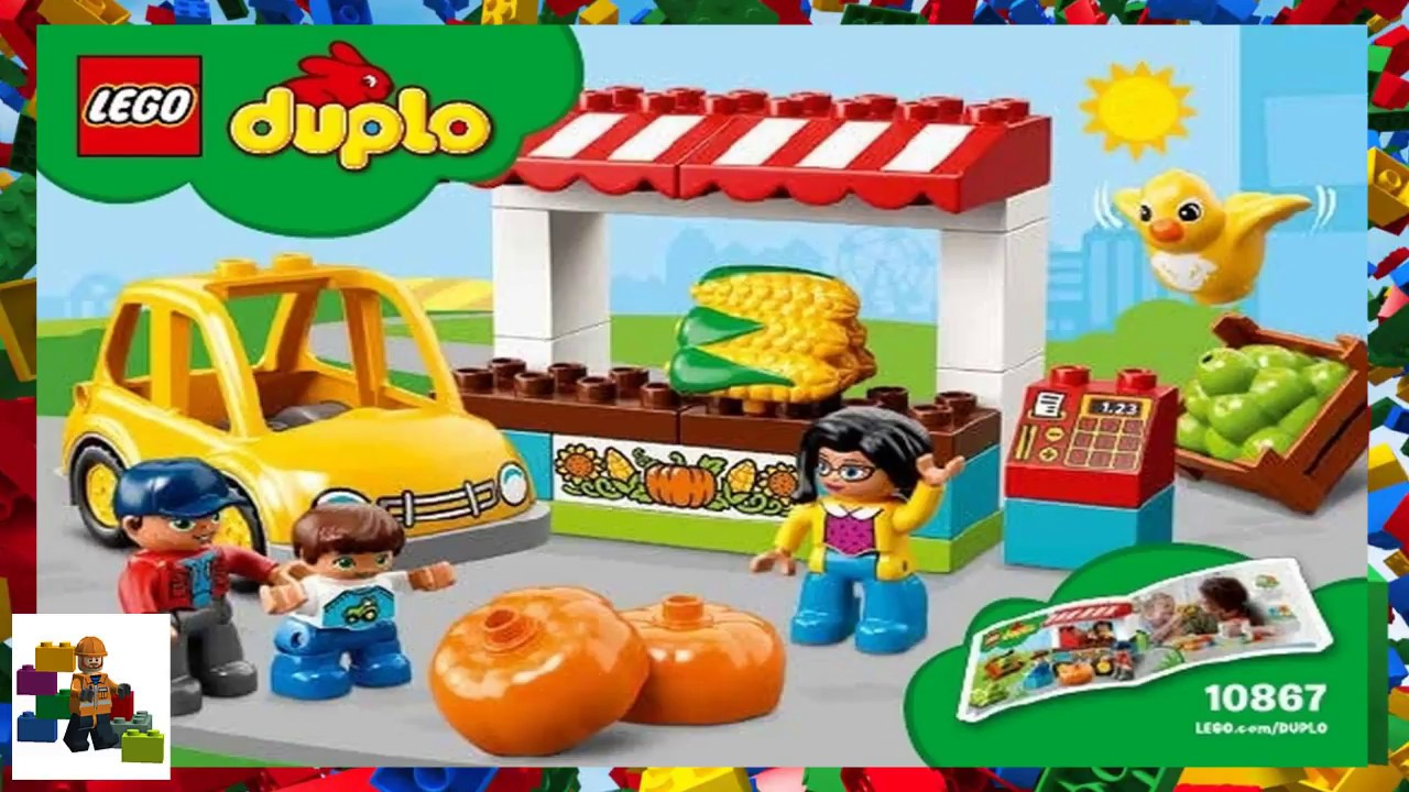 deab983517d0d LEGO instructions - DUPLO - 10867 - Farmers' Market - YouTube