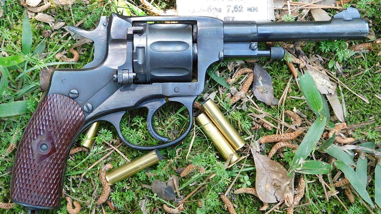 Gun Review: Russian M1895 Nagant revolver in 7 62x38R (VIDEO)