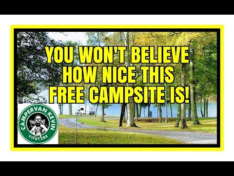 This Campsite Is TOO GOOD To Be FREE!!!