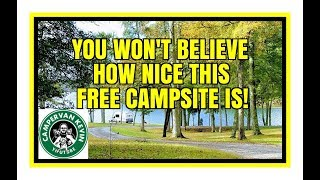 This Campsite Is TΟO GOOD To Be FREE!!!