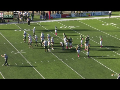 #11 Montana Tech Football vs. Rocky Mountain College